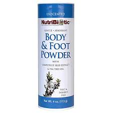 Nutribiotic <b>Body</b> and <b>Foot Powder</b>, Unscented, 4 Ounce | Walmart ...