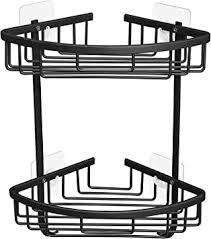 Gricol Shower Shelf No Drilling <b>Space Aluminum</b> Shower Corner ...