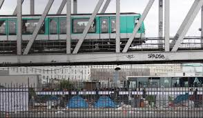 Image result for paris morning migrant