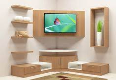 EDGAR Solid Oak Corner <b>TV</b> Unit in 2019 | Полки | Тумбочка под ...