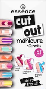 <b>Наклейки для ногтей Cut</b> out manicure stencils Essence купить в ...