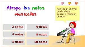 Resultado de imagen de aprendo musica, atrapa las notas en clave de fa