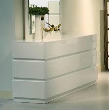 ceres modern white bedroom mirror  moderndresserwithdrawersstackedoneachotherinwhitehighglosslacquerfini