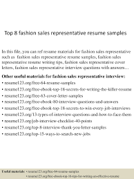 topfashion srepresentativeresumesamples lva app thumbnail jpg cb