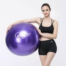 Shop Ufit Gymnastic Ball - <b>Free</b> Pump - <b>75 Cm</b> - Purple | Jumia Egypt