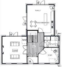 Georgian style self build house plans   Self build co ukThree bedroom house plans