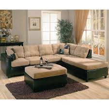 cladio hickory sectional living room set