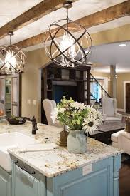 kitchen island granite top sun: i really love old beams and the robins egg blue island