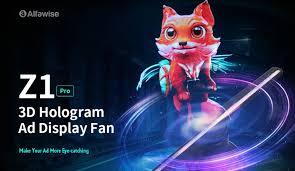 Alfawise - <b>Alfawise Z1 Pro 3D</b> Hologram Advertising... | Facebook