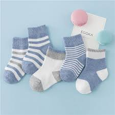 <b>5 pair</b> / <b>lot 100</b>% <b>cotton</b> Socks for Toddler Girls and Boys Polka Dots ...