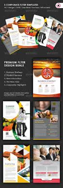 5 flyer design templates by black3ye graphicriver 5 flyer design templates corporate flyers