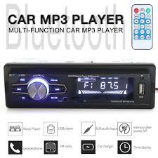 <b>12V</b> Bluetooth Car Radio MP3 Player Stereo Audio <b>60W x</b> 4CH Aux ...