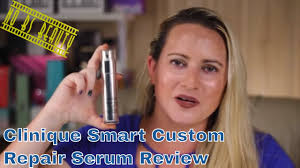 CLINIQUE <b>Clinique Smart Custom-Repair</b> Serum Review - YouTube