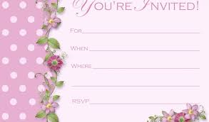 Invitation Birthday Template : Calendario 2016 Calendar, Kids ... Blank Invitation Card Template
