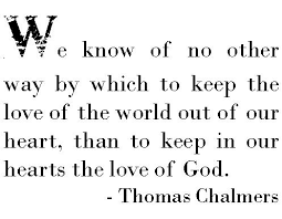 Image result for quote from thomas chalmers
