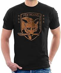 <b>Foxhound Special Forces</b> Group Metal Gear Solid Men's T-Shirt ...