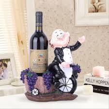 2019 <b>Cute</b> Chef Figurine Statue Red Wine Holder Decorative <b>Resin</b> ...