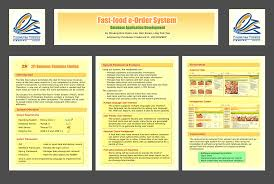 list of distinguished final year projects resources presentation poster mmorpg