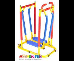 <b>Тренажер детский механический</b> Бегущая по волнам <b>Moove&Fun</b> ...