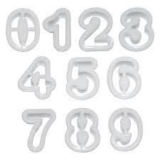 """<b>Набор форм для печенья</b> """"Знаменательные даты"""", 9 цифр ..."""