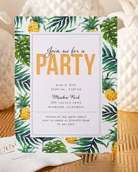have your friends join you for a tropical party this summer a have your friends join you for a tropical party this summer a unique personalized invitation
