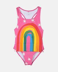 Girls Swimwear & Swimsuits | <b>2</b> Piece & <b>Sets</b> | Stella McCartney Kids