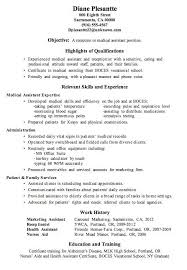 medical receptionist resume. receptionist resume example. resume ... Receptionist Resume Qualifications Httpwwwresumecareerinforeceptionist