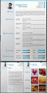 free elegant modern cv   resume templates  psd    freebies    free resume  cover latter  portfolio psd template