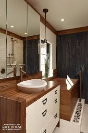 bathroom wood countertop master bath teak wood vanity top in washington dc