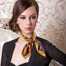 How to wear small neck scarves