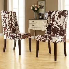dining table parson chairs interior: cool cowhide dining chair u dining room chairs galleries