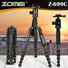 <b>Zomei Z699C Carbon Fiber</b> Tripod 5 Section Monopod Portable Ball ...