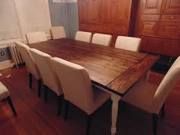 7ft dining table: reclaimed wood farmhouse table with beautiful turned legs
