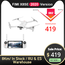 <b>FIMI X8SE 2020</b> Version Camera drone 8KM FPV 3 axis Gimbal 4K ...