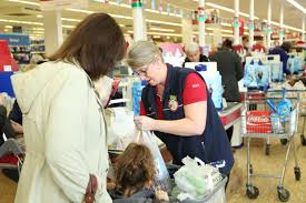every little helps tesco colleagues lend customers a helping customer and colleague