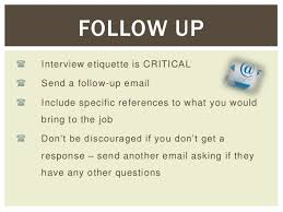 how to prepare for a telephone interview  assurance 6 i۬ interview etiquette is critical i۬ send a followup