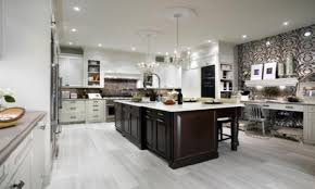 Small Picture White Kitchen Cabinets With Dark Hardwood Floors 35 Striking White