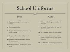 school uniform pros and cons   school uniforms pros  school    mohhamed  mod  b  ms  violations  eliminate  cons  a  child  pros  school  uniform