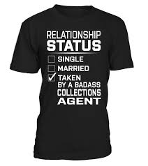 collections agent relationship status collections agent