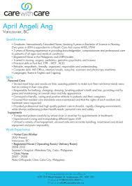 caregiver skills resumes template caregiver skills resumes