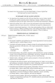 10 sample of investment banking resume template job and resume investment banking resume format