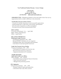 traditional resume template getessay biz non traditional student resume career change by pbn10852 throughout traditional resume