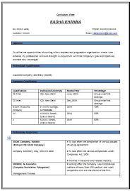 good resume format for experienced 571 httptopresumeinfo best format for resumes