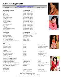 modeling resume format resume format  resume