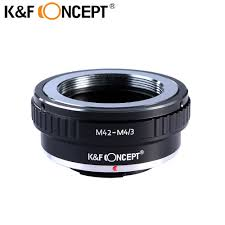 K&F CONCEPT <b>M42 M4</b>/<b>3</b> Camera <b>Lens Adapter Ring</b> For Screw ...