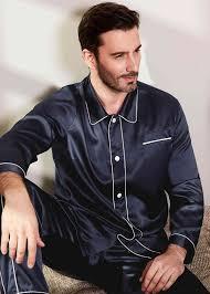 Washable & Durable <b>Silk Mens Pajamas</b> Affordable Price Designer ...