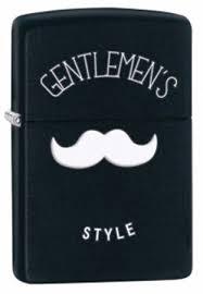 Широкая <b>зажигалка Zippo Gentlemen's Style</b> 28663 на ZIPPO ...