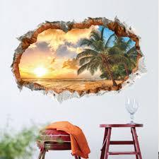 coco palm tree wall decor art print
