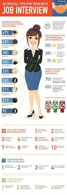 best ideas about job interview attire job how to nail your next job interview infographic reveals 34 crucial dos and don ts