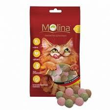 <b>Лакомства</b> для кошек <b>Molina</b> - купить в Москве, низкая цена ...